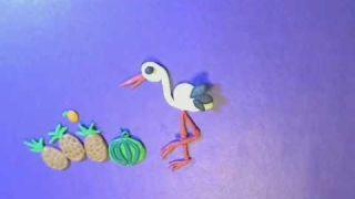 """1. Развивающий мультфильм для детей из пластилина: Азбука в стихах. Буква """"А """""""