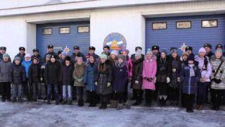 Сотрудники МЧС приняли участие в бурятском флешмобе «Глобальный ёхор-2015»