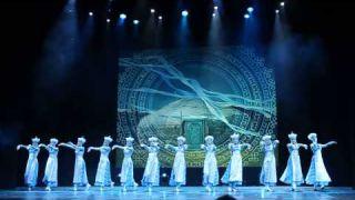 Русский национальный балет танцует бурятский ехор (Петербург)