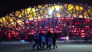 """Всемирный флэшмоб """"Глобальный ёхор""""-2013. Пекин, Китай"""